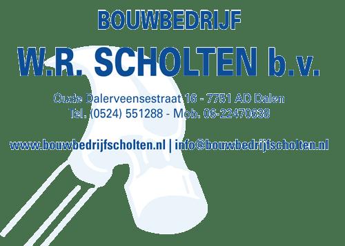 Bouwbedrijf J.R. Scholten - Sponsor Zuidenveld Dalen 2018