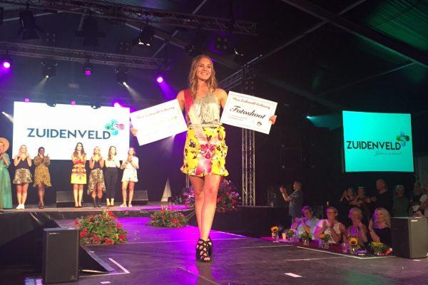 Jane van Boven uit Zuidenveldkern Oosterhesselen is Miss Zuidenveld!